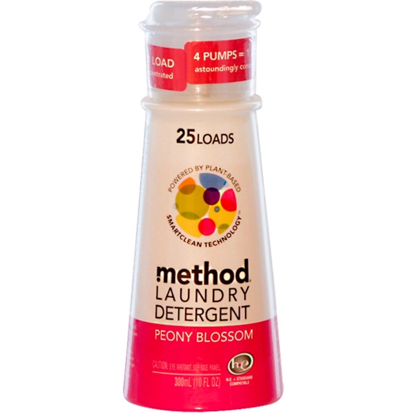 Method, Laundry Detergent, Peony Blossom, 10 fl oz (300 ml) (Discontinued Item)