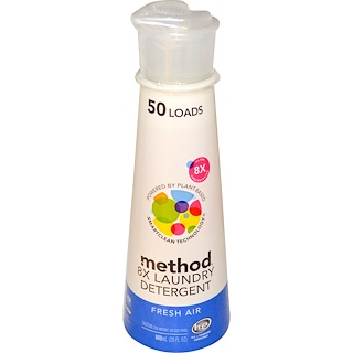 Method, 8X洗滌劑,清新香氛,20液量盎司(600毫升)