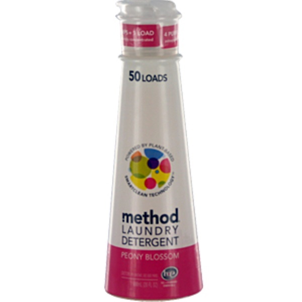 Method, Laundry Detergent, Peony Blossom, 20 fl oz (600 ml) (Discontinued Item)