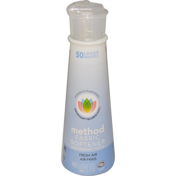 Method, 柔軟剤, フレッシュエアー, 20液量オンス (600 ml) (Discontinued Item)