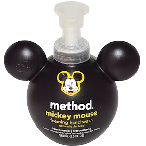 Метод, Mickey Mouse Foaming Hand Wash, Lemonade, 8.5 fl oz (252 ml) отзывы покупателей
