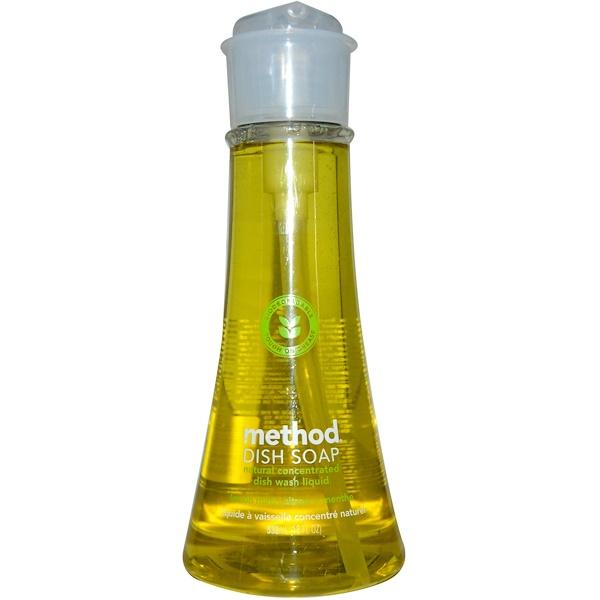 Method, 食器用洗剤, レモンミント, 18 液量オンス (532 ml)
