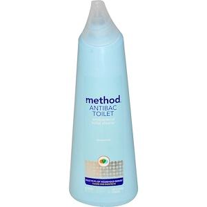 Метод, Antibac Toilet, Spearmint, 24 fl oz (709 ml) отзывы