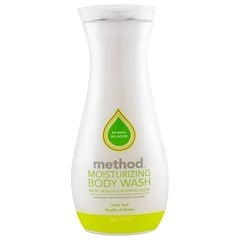 Method, Moisturizing Body Wash, Olive Leaf, 18 fl oz (532 ml)