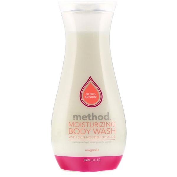 Method, Moisturizing Body Wash, Magnolia, 18 fl oz (532 ml)