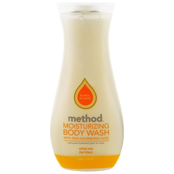Method, Moisturizing Body Wash, White Tea, 18 fl oz (532 ml)