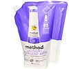 Method, Laundry Detergent Refill, 85 Loads, Lavender Cedar, 34 fl oz (1020 ml)