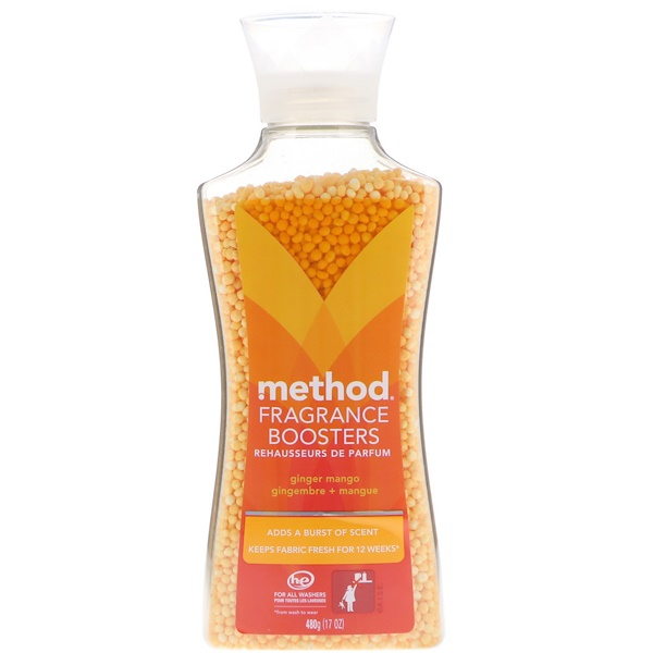 Method, Fragrance Boosters, Ginger Mango, 17 oz (480 g) (Discontinued Item)