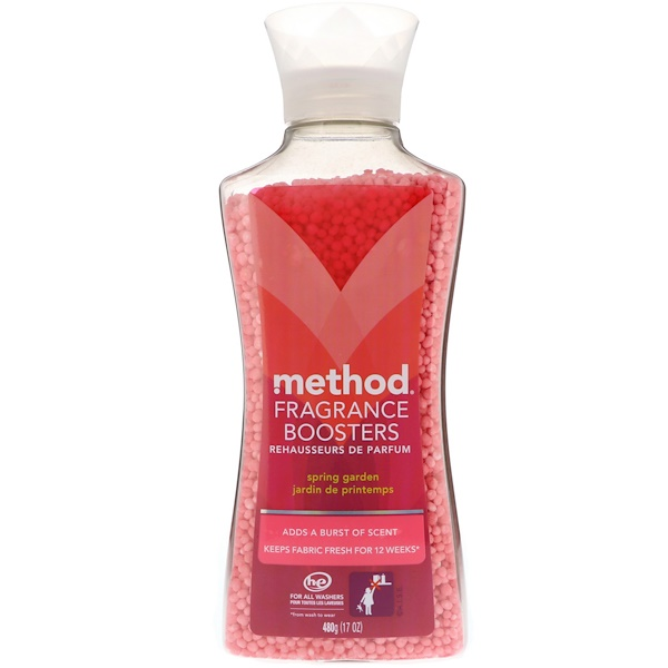 Method, Fragrance Boosters, Spring Garden, 17 oz (480 g)