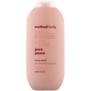Method, Body, Body Wash, Pure Peace, 18 fl oz (532 ml)