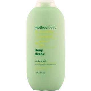 Method, Body, Body Wash, Deep Detox, 18 fl oz (532 ml)