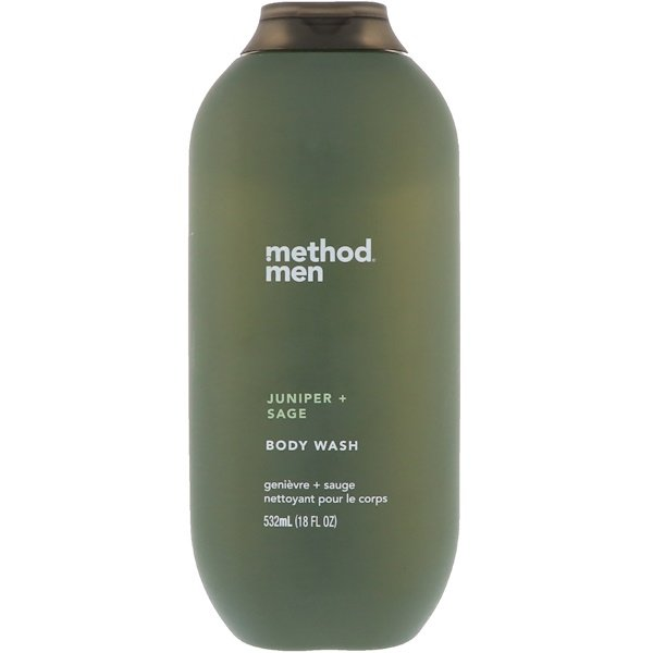 Method, Men, Body Wash, Juniper + Sage, 18 fl oz (532 ml) (Discontinued Item)
