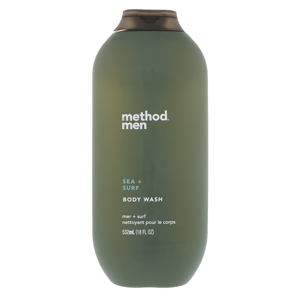 Method, Men, Body Wash, Sea + Surf, 18 fl oz (532 ml)