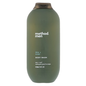 Метод, Men, Body Wash, Sea + Surf, 18 fl oz (532 ml) отзывы