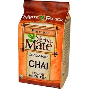 Мэйт Фактор, Yerba Mate, Organic Chai, Loose Herb Tea, 12 oz (340 g) отзывы