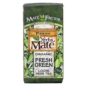 Мэйт Фактор, Organic Yerba Mate, Fresh Green, Loose Herb Tea, 12 oz (340 g) отзывы