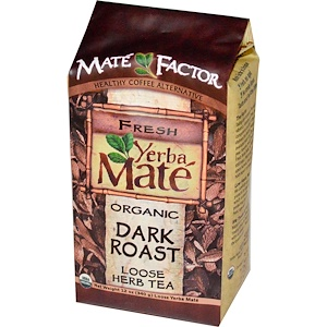 Мэйт Фактор, Organic Yerba Mate, Dark Roast, Loose Herb Tea, 12 oz (340 g) отзывы