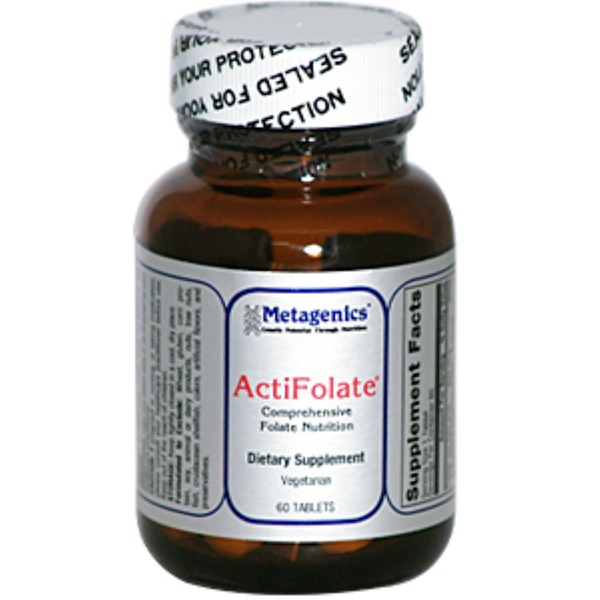 Metagenics, ActiFolate, 60 Tablets (Discontinued Item)