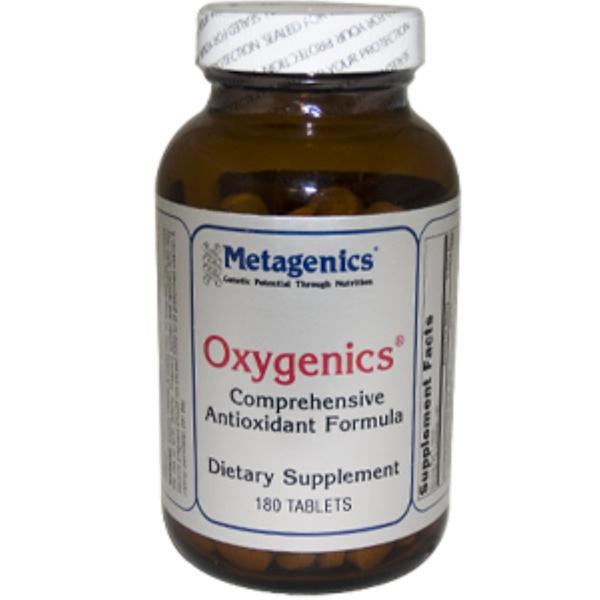 Metagenics, Oxygenics, 180 Tablets (Discontinued Item)