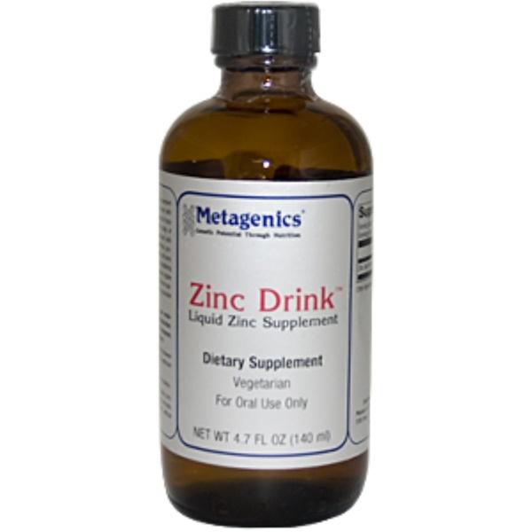 Metagenics, Zinc Drink, 4.7 fl oz (140 ml) (Discontinued Item)