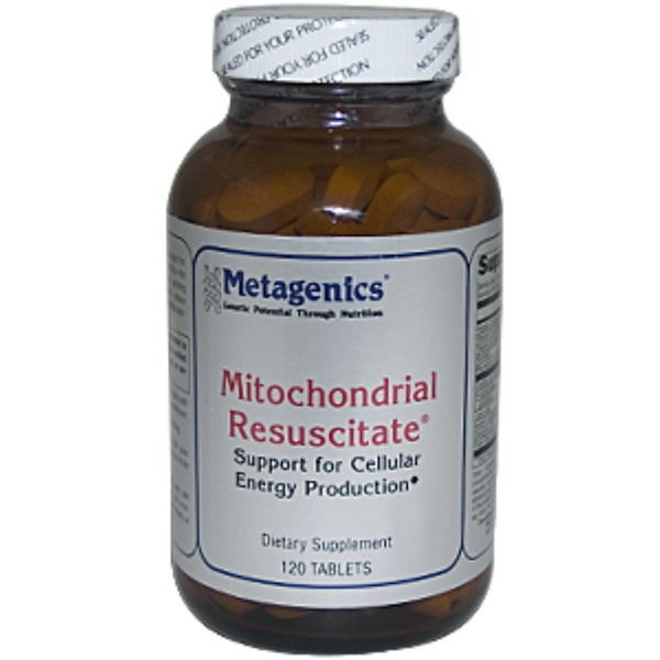 Metagenics, Mitochondrial Resuscitate, 120 Tablets (Discontinued Item)