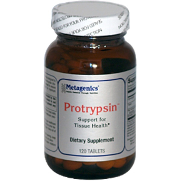 Metagenics, Protrypsin, Support for Tissue Health, 120 Tablets  (Discontinued Item)