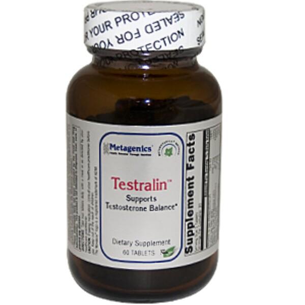 Metagenics, Testralin, 60 Tablets (Discontinued Item)