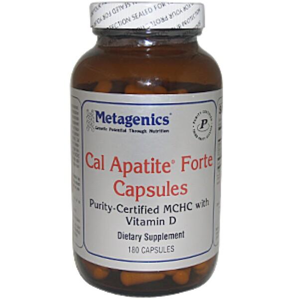 Metagenics, Cal Apatite Forte Capsules, 180 Capsules (Discontinued Item)