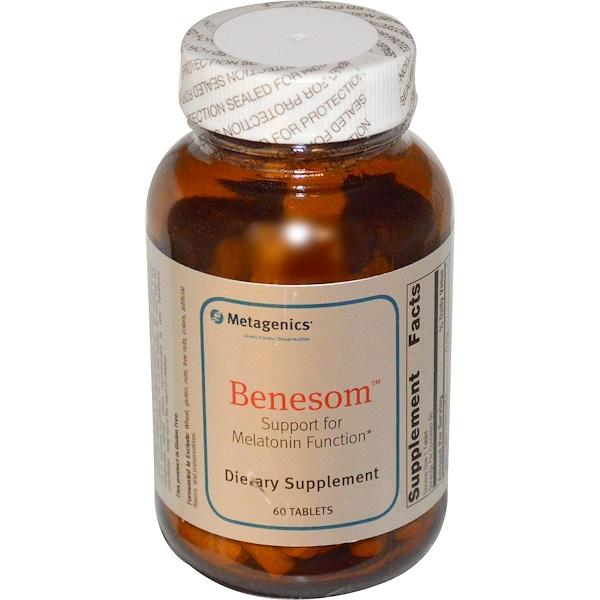 Metagenics, Benesom, 60 Tablets (Discontinued Item)
