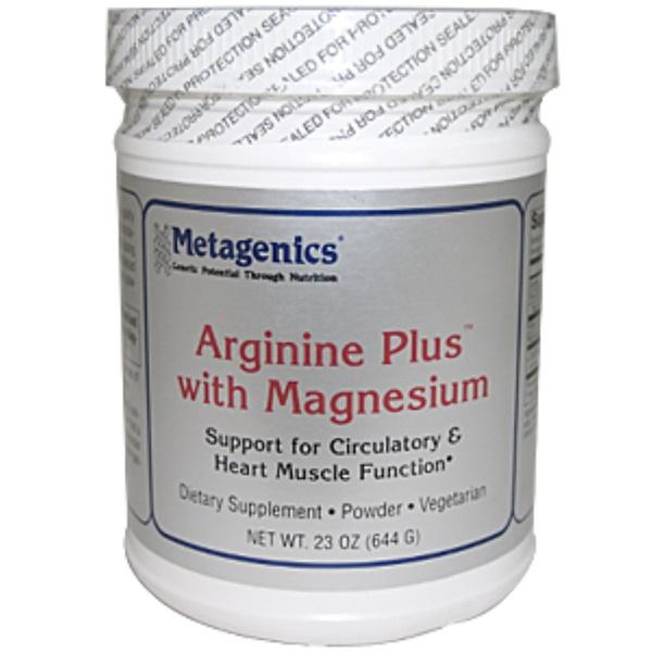 Metagenics, Arginine Plus with Magnesium, Powder, 23 oz (644 g) (Discontinued Item)