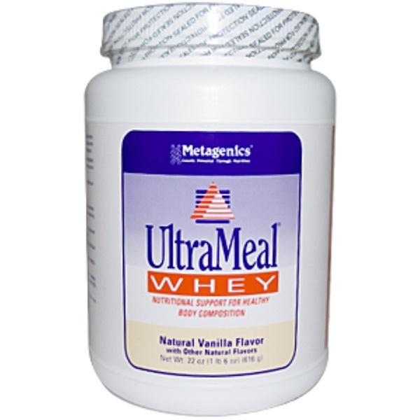 Metagenics, UltraMeal Whey, Natural Vanilla Flavor, 22 oz (616 g) (Discontinued Item)