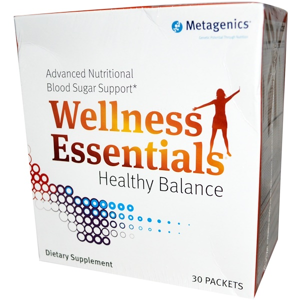 Metagenics, Wellness Essentials, Healthy Balance, 30 Packets (Discontinued Item)