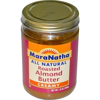 MaraNatha, Roasted Almond Butter, Creamy, 16 oz (454 g)
