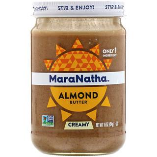 MaraNatha, Almond Butter, Creamy, 16 oz (454 g)