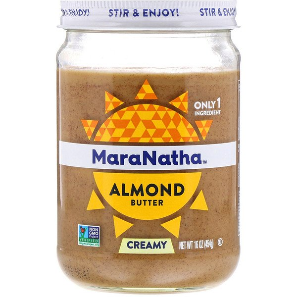 MaraNatha, Almond Butter, Creamy, 16 oz (454 g) (Discontinued Item)