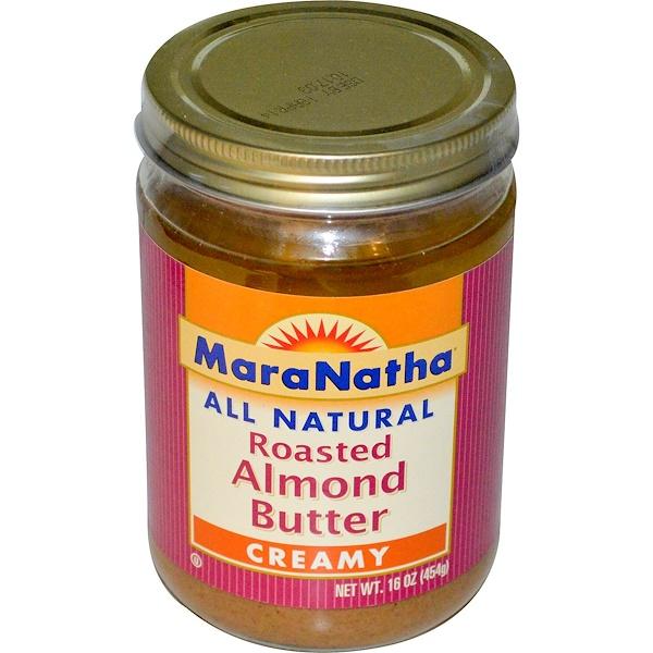 MaraNatha, 烤杏仁醬,奶油,16盎司(454克)