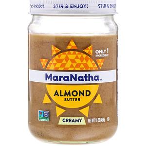 МараНата, Almond Butter, Creamy, 16 oz (454 g) отзывы покупателей