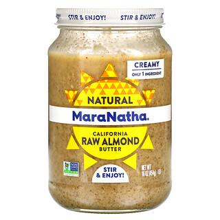 MaraNatha, 생아몬드 버터, 크리미, 454g(16oz)