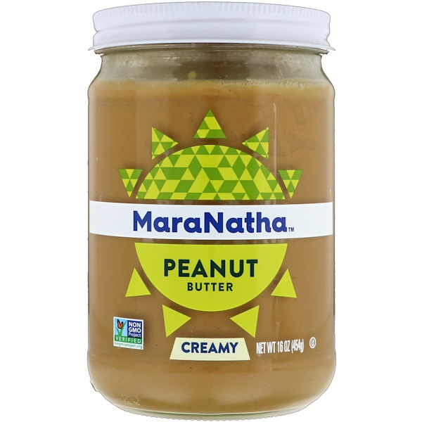 MaraNatha, Peanut Butter, Creamy, 16 oz (454 g) (Discontinued Item)