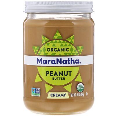 Купить MaraNatha Органическое арахисовое масло, сливочное, 454 г (16 унций)