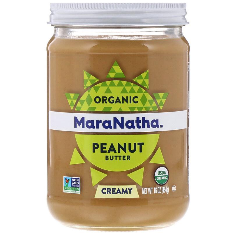 Organic Peanut Butter, Creamy, 16 oz (454 g)