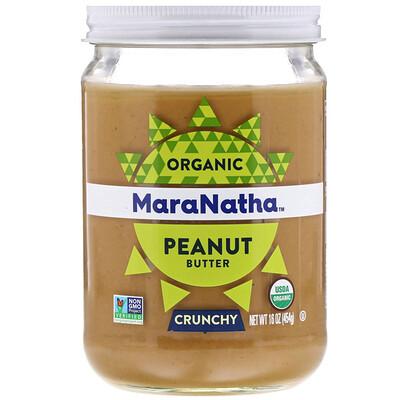 Купить MaraNatha Органическое арахисовое масло, хрустящее, 454 г (16 унций)