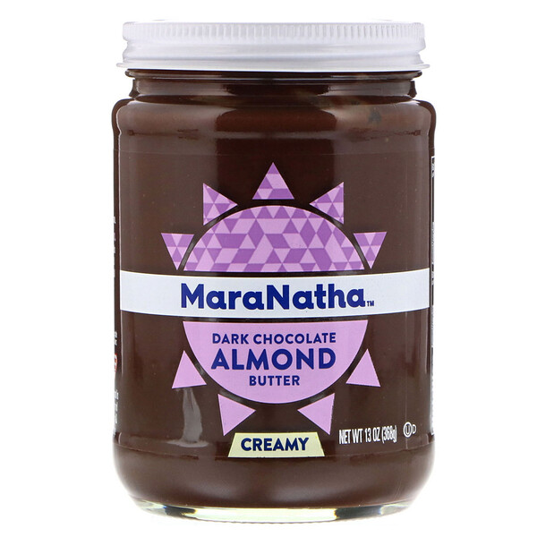 Dark Chocolate Almond Butter, Creamy, 13 oz (368 g)