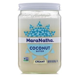 MaraNatha, Manteca de coco, Cremosa, 15 oz (425 g)