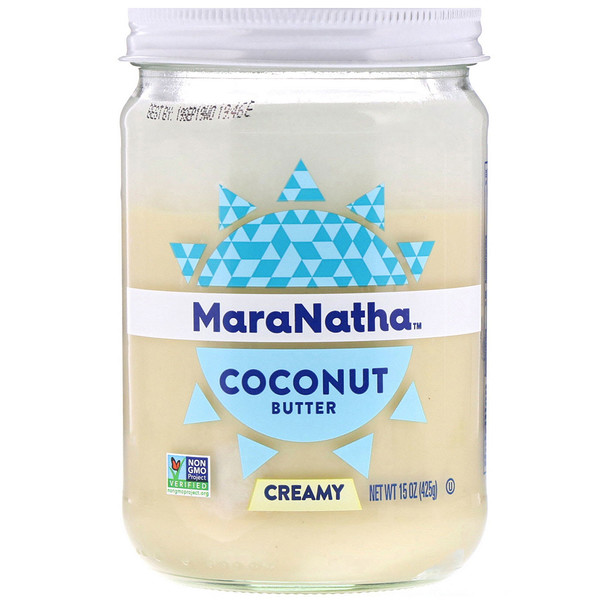 MaraNatha, Coconut Butter, Creamy, 15 oz (425 g) (Discontinued Item)