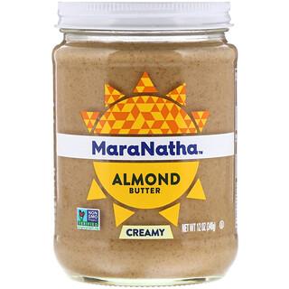 MaraNatha, Almond Butter, Creamy, 12 oz (340 g)