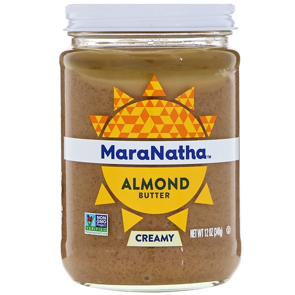 MaraNatha, Миндалевое масло, кремовое, 12 унц. (340 г)