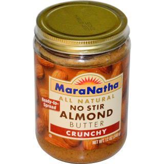 MaraNatha, No Stir Almond Butter, Crunchy, 12 oz (340 g)