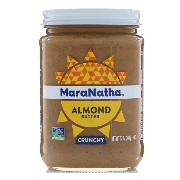 MaraNatha, Almond Butter, Crunchy, 12 oz (340 g)