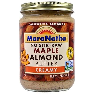 MaraNatha 楓葉杏仁醬,乳脂狀,12盎司(340克)